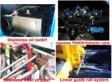 Sero 모터 고품질 10ml~10L HDPE/PP는 단지 갤런 콘테이너 Kettels 남비 바다 공 중공 성형 기계 Ablb65를 병에 넣는다