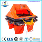 Self-Righting aufblasbares Rettungsfloß mit CER (GL) Bescheinigung-Typen UZ Werfen-Über Bord
