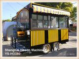 Rimorchio mobile della barra del ristorante della stalla dell'alimento Ys-Ho350 dell'alimento del rimorchio mobile del carrello