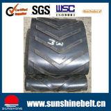 Resistenza di abrasione industriale del nastro trasportatore di fabbricazione con superiore per la pianta del fertilizzante