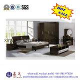 Kundenspezifische hölzernes Bett-moderne Hauptschlafzimmer-Möbel (B15#)