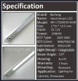 Lumière laiteuse ou claire d'étalage de barre d'éclairage LED de couverture