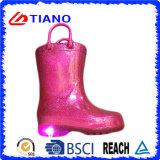 Nuevo cargador de lluvia cómodo del PVC con la luz del LED (TNK90005)