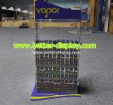 アクリルの電子タバコの陳列台