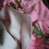 DTY Sherpa Fleece Tela con Print