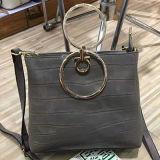 Bolsos 2017 de hombro del cuero genuino de los bolsos del diseñador para las mujeres Emg4590