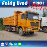 De in het groot Gebruikte 6X4 Vrachtwagen van de Stortplaats van Shacman F3000 van de Stortplaats van de Vrachtwagen