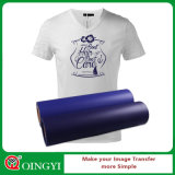 Vinyle grand de transfert thermique de PVC de qualité de Qingyi pour le T-shirt