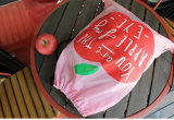 De waterdichte Zak van Drawstring van de Rugzak van de Zak van de Gymnastiek van het Voetbal van de Kabel van het Koord Witte Douane Afgedrukte Vouwbare Nylon Promotie