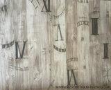 Le papier décoratif de modèle de mélamine neuve d'impression pour la mélamine a fait face au panneau