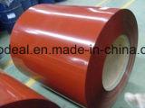 el espesor de 0.12-0.80m m prepintó el acero galvanizado Coils/PPGI para la hoja del material para techos