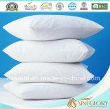 Protezione bianca del cuscino della cassa del cuscino di uso dell'hotel e della casa