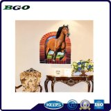 Etiquetas engomadas movibles del caballo de las etiquetas engomadas de la pared 3D