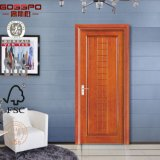 Porta de madeira interior dianteira decorativa americana (GSP8-013)