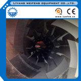 Secador de tambor rotatorio de los ahorros de los pedazos de madera para la venta