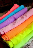 Высокая закрутка закрутила ткань маркизета полиэфира используемую для шарфа и платья с мягким Handfeel