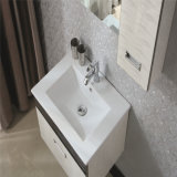 Gabinete de pared moderna de la serie de múltiples capas de madera maciza de tocador de baño