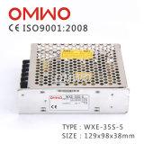 35W 5V 7A LED Ein-Outputschaltungs-Stromversorgung Wxe-35s-5
