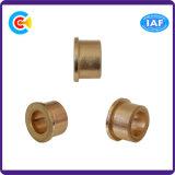 비표준 잠그개 모터를 위한 Wear-Resistant 편평한 Ronud 맨 위 구리 소매 또는 나사