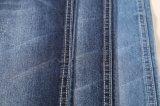 tissu 9.8oz de denim de coton de sergé de la mèche 12s plein