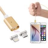 dados destacáveis da potência magnética de 5V 2.4A que cobram o micro cabo do USB para o iPhone Android