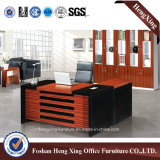 Vector de madera laminado melamina de la oficina ejecutiva (Hx-6M319)