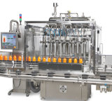 Линейный тип машина завалки воды для бутылки и машины для прикрепления этикеток