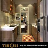 シタンのベニヤの木のホーム家具の食器棚(AP079)