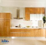 アメリカの純木の食器棚(クルミ)