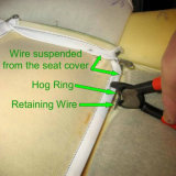 15g100 Galfan Hog Ring for Case, Fence Wire, literie