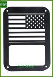 Cubierta de la luz trasera de protección para Jeep Wrangler Jk (bandera EE.UU.)