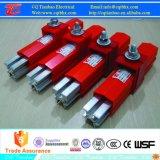 Sistema de barras 160A-1250A de aluminio resistente conductor aislado de la grúa / Polipasto
