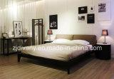 2016 moderner Schlafzimmer-Leder-König Bed (A-B39) der Art-