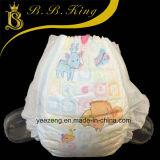 Caliente vendiendo el alto pañal soñoliento absorbente muy suave del bebé