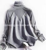 Camisa bicolor del poliester del `S de las mujeres del empalme