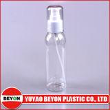 frasco transparente do animal de estimação 120ml plástico com o tampão da imprensa dos PP para o empacotamento do cosmético (ZY01-B070)