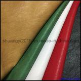 Gravar o couro do plutônio para a superfície material e o revestimento protetor das sapatas a mesma cor