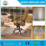 Esteira da cadeira da esteira/tapete da cadeira do assoalho do PVC do fabricante para o escritório & a HOME