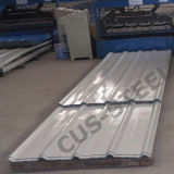 建築材料の屋根ふき版か壁のクラッディングの鋼板