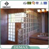 高品質によって着色される空の明確で装飾的なガラス・ブロック