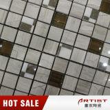 Vidrio de mármol clásico de la mezcla del mosaico, modelos de los azulejos de mosaico para la pared interior