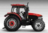 ディーゼル機関(OX1304)を搭載する新しい130HP四輪運転車輪のトラクター