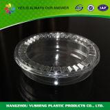 Пластичная ясная коробка круглого торта