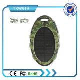 O painel solar 5000mAh Dual banco da potência solar do USB