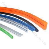 La gomma si è sporta strisce e tubo flessibile di sigillamento