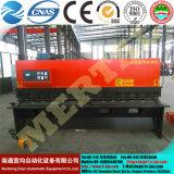 ¡Caliente! QC12y-4X2500 la viga hidráulica del oscilación (CNC) pela la máquina