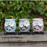 Оптовые керамические миниые крытые баки завода сада цветка