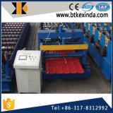 Kxd 960アルミニウム屋根ふきシートは機械を形作るタイルロールを艶をかけた