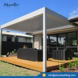 Cubierta Louvered ajustable de la azotea del patio de la pérgola impermeable de Motoried