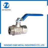 Dr. 1059 robinet à tournant sphérique de nickelage pour l'eau et le pétrole